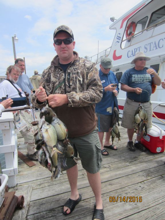 Fishing may 14th 2015 capt stacy fishing center for Capt stacy fishing center