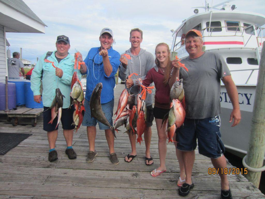 Fishing september 18th 2015 capt stacy fishing center for Capt stacy fishing center
