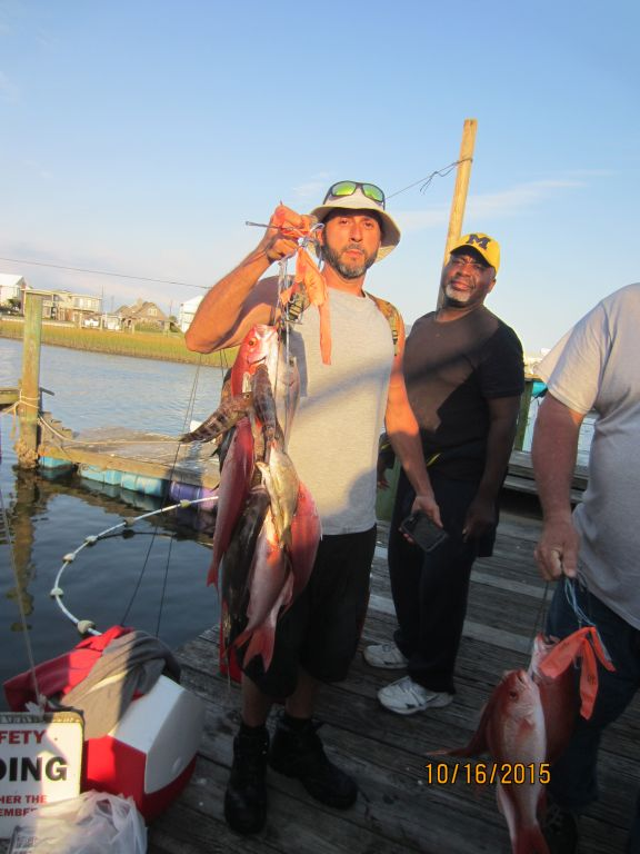 Fishing october 16th 2015 capt stacy fishing center for Capt stacy fishing center