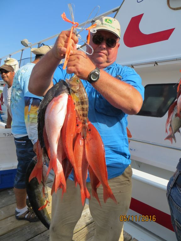 Fishing may 11th 2016 capt stacy fishing center for Capt stacy fishing center
