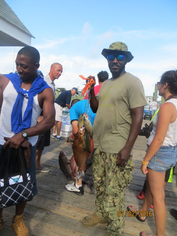Fishing july 2nd 2016 capt stacy fishing center for Capt stacy fishing center