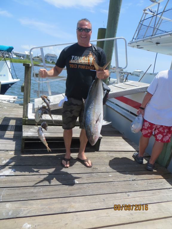 Fishing august 9th 2016 capt stacy fishing center for Capt stacy fishing center