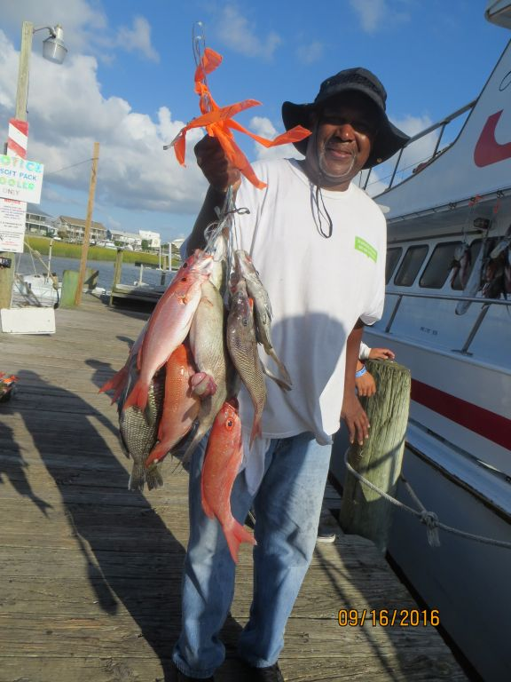 Fishing september 16th 2016 capt stacy fishing center for Capt stacy fishing center