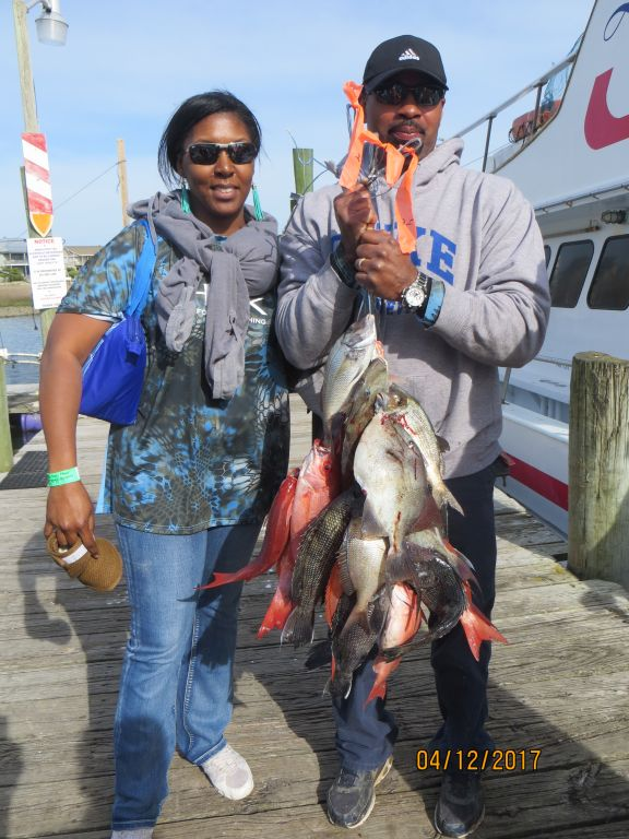Fishing april 12th 2017 capt stacy fishing center for Capt stacy fishing center