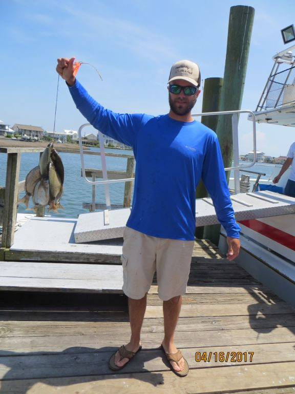 Fishing april 16th 2017 capt stacy fishing center for Capt stacy fishing center