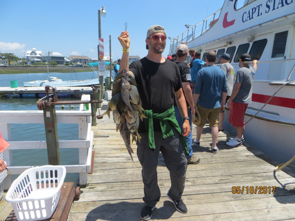 Fishing may 16th 2017 capt stacy fishing center for Capt stacy fishing center